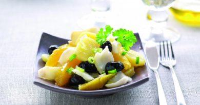 Малагский салат по-испански