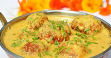 Малай-кофта - картофельные шарики по-индийски