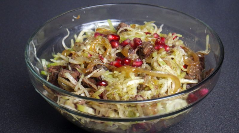Сай - Узбекский салат из редьки