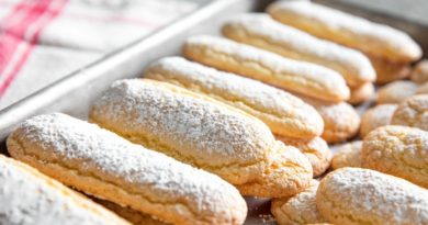 Савоярди - Бисквитное печенье по-французски