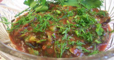 Саламур - Молдавский соус