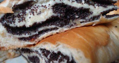 Маковник - Польский пирог с маком