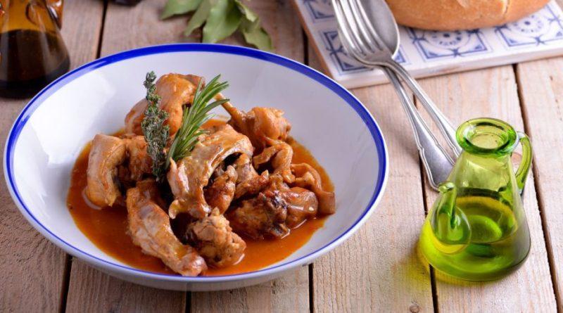 Кролик сальмореха - блюдо Канарских островов