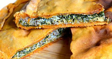 Сабанех - пирожки со шпинатом по-арабски
