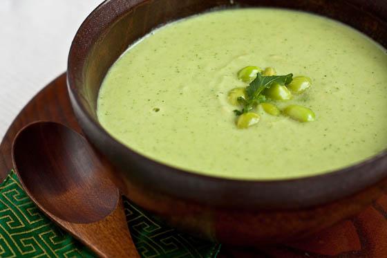 Суп-пюре из рукколы