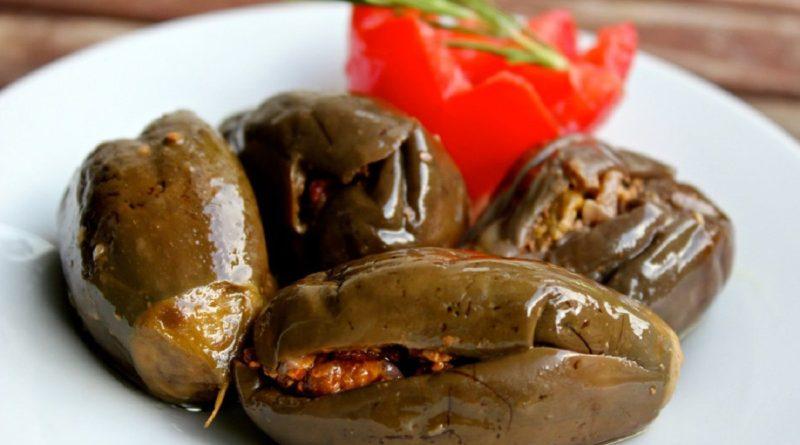 Макдус - баклажаны по-арабски