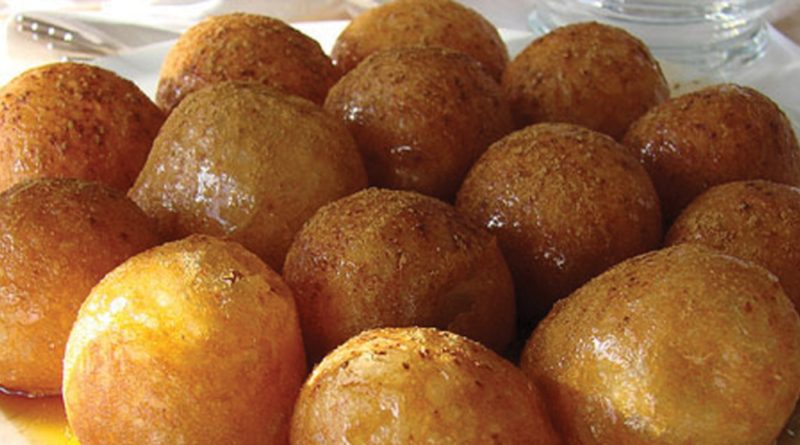 Локма (лукумадес) - арабский десерт