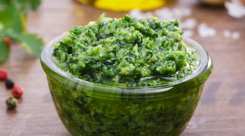 Сальса верде - Итальянский зелёный соус