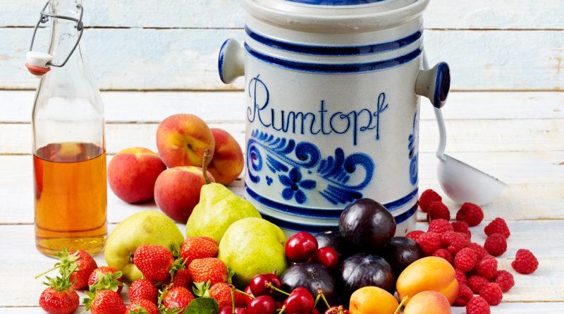 Румтопф - Немецкий десерт из ягод и фруктов