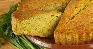 Малай - Молдавский традиционный пирог из кукурузы