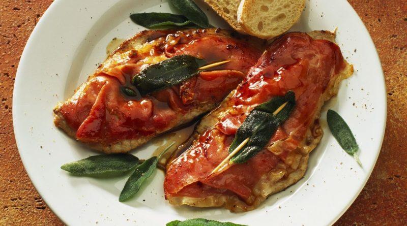 Сальтимбокка - Мясо по-итальянски