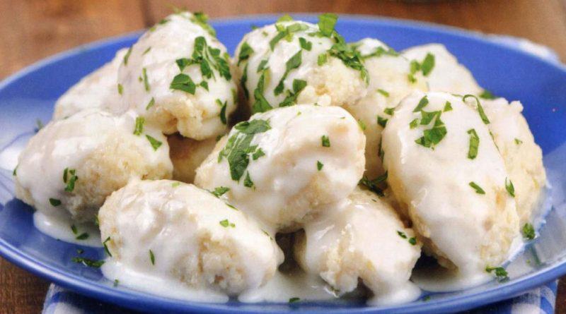 Климпируока (картофельные клёцки) по-фински