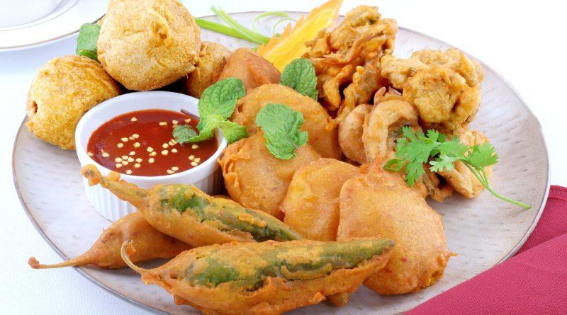 Пакора из цветной капусты или баклажанов по-индийски