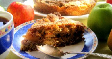 Овсяный пирог по-датски