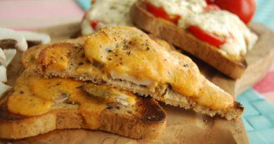 Рейбит - Гренки с сыром по-английски