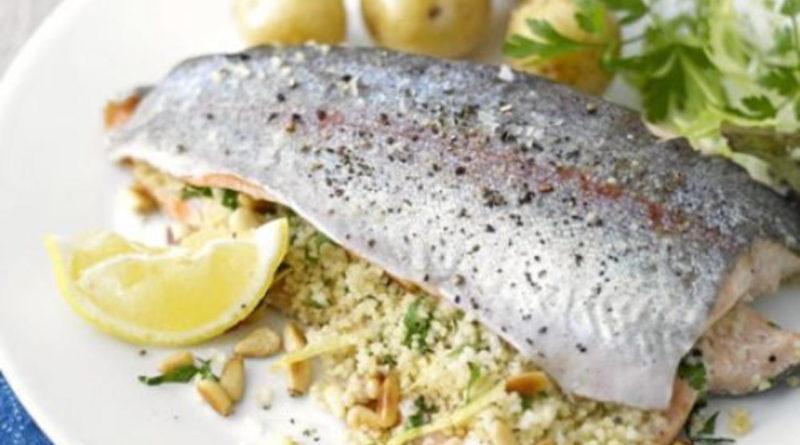 Кутап - Рыба, запечённая с рисом по-армянски