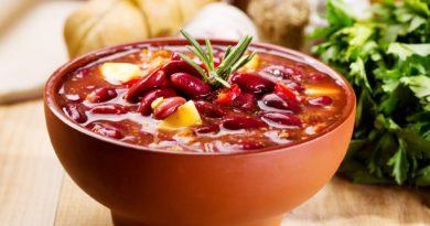 Лобахашу - Суп из фасоли по-армянски