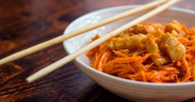Хе из минтая - Закуска по-корейски