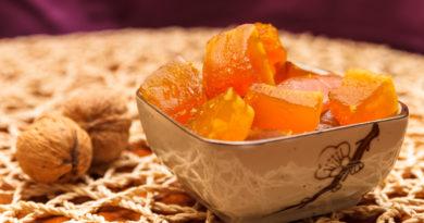 Домашние цукаты из тыквы