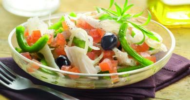Ремохон- Испанский апельсиновый салат