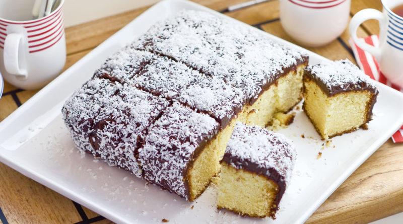 Ламингтон - Австралийское пирожное