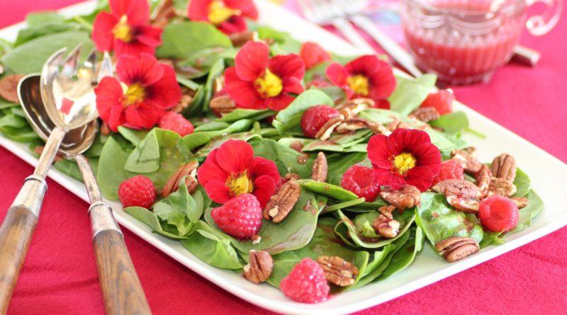 Цветы в кулинарии (съедобные цветы)