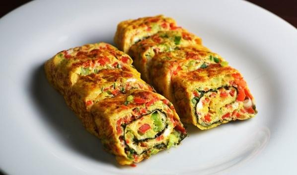 Паджон - Овощной омлет по-корейски