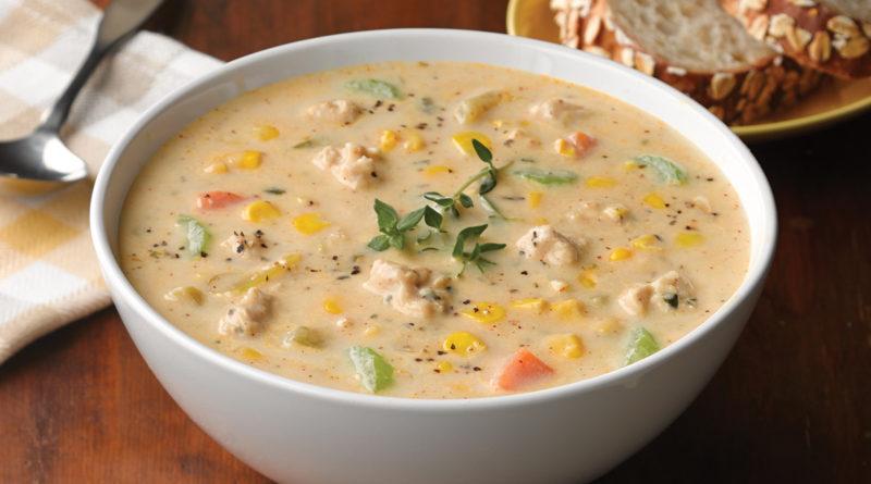 Ореховый суп по-американски