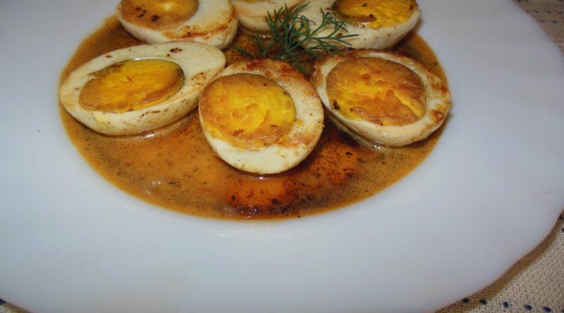 Хамине - Яйца по-египетски