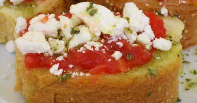 Риганада - Греческая закуска