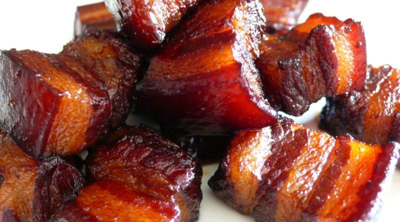 Хуншао (красная свинина) по-китайски