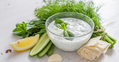 Цацики (дзадзики) - Греческий соус на основе йогурта