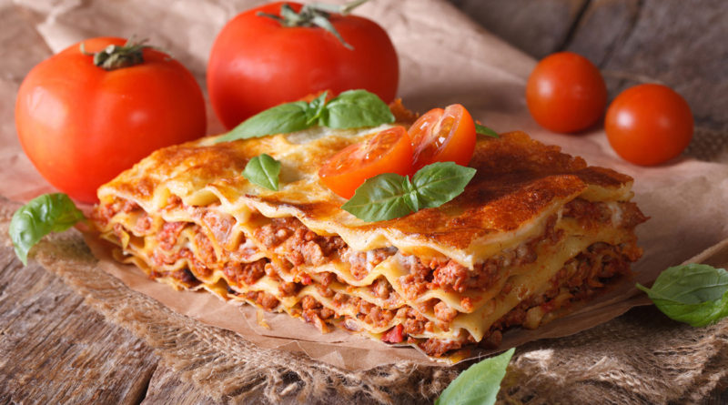 Лазанья вегетарианская и с говядиной по-итальянски