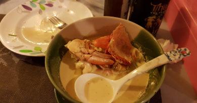 Суп из краба с побегами бамбука по-вьетнамски и другие блюда из краба