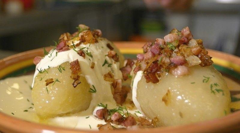 Цепелинай (цеппелины) - Картофельные клёцки с мясной начинкой по-литовски