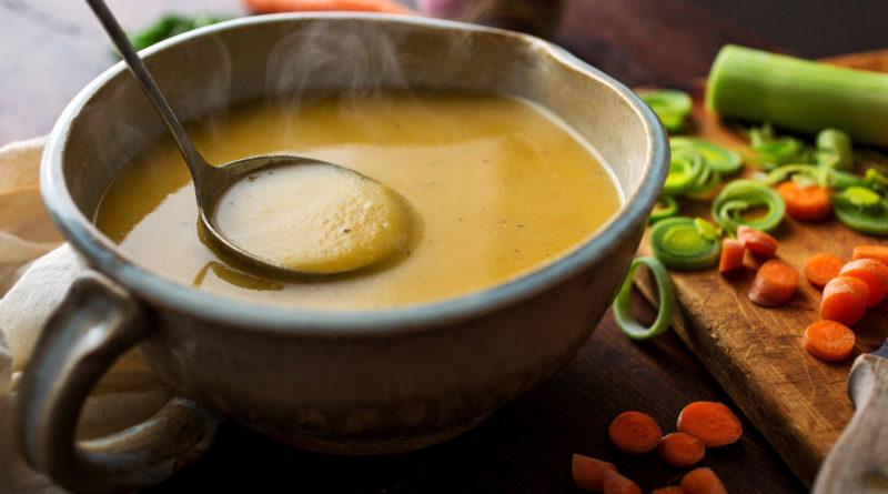 Суп из репы и салат с репой