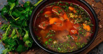 Хохоб - Армянский суп из баранины