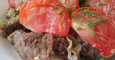 Кололак - колбаски по-армянски