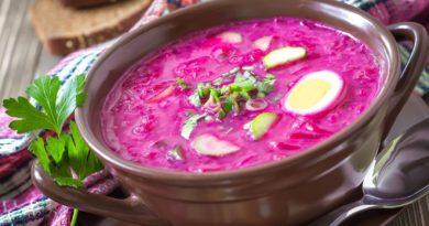 Хладник - Белорусский летний суп