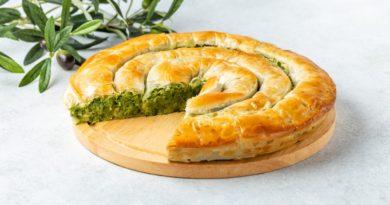Хортопита - Греческий пирог с зеленью