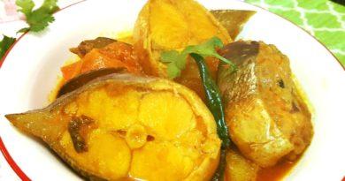 Окунь по-бенгальски - Блюдо индийской кухни