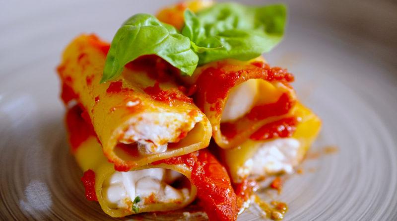 Паккери с мясом и грибами по-итальянски
