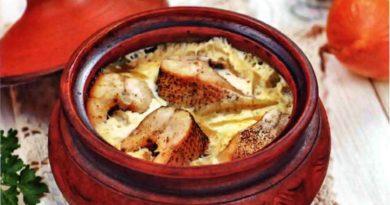 Лидака-ун-ола - Запеченная рыба по-латышски