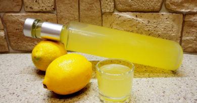 Домашний лимончелло по-итальянски