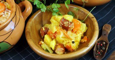 Рецепты с охотничьими колбасками