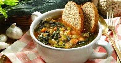 Риболлита - Густой овощной суп по-итальянски
