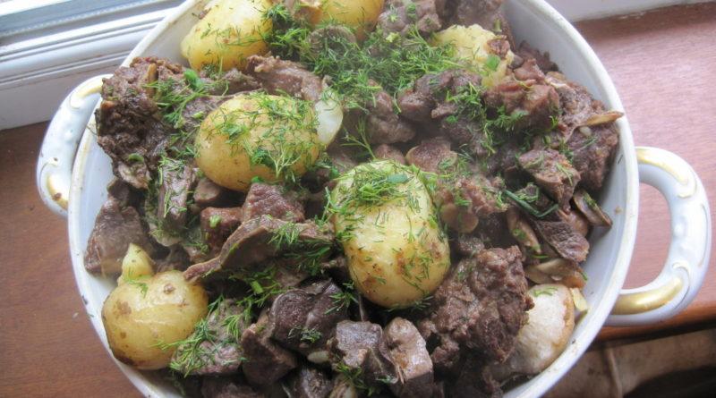 Куырдак - Блюдо казахской кухни