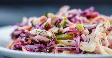 Коул слоу - Американский салат из капусты