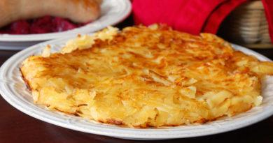 Рёсти (рёшти) - Блюдо швейцарской кухни из тёртого картофеля