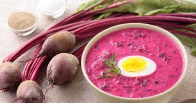 Холодник - Холодный свекольный суп